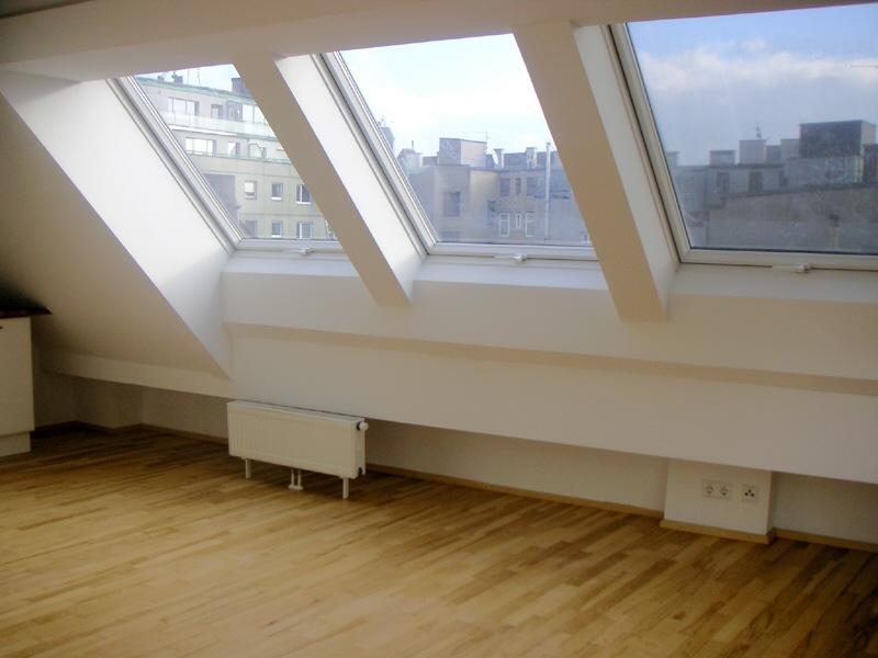 Kleinwohnung im Dachgeschoß