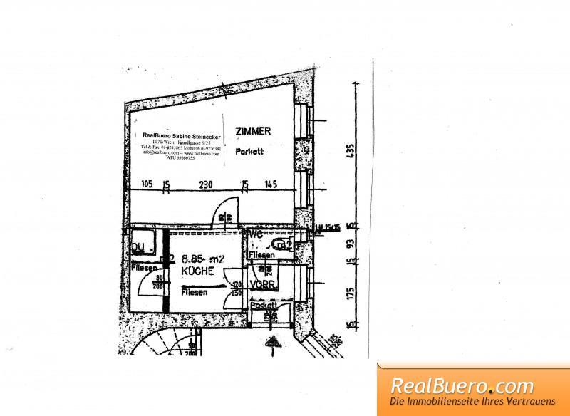 1-Zimmer-Wohnung Lacknergasse 1170 Wien