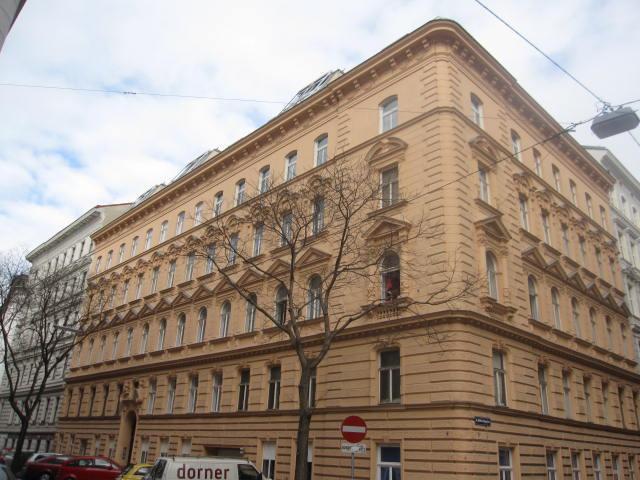 Altbauwohnung Geusaugasse Wien