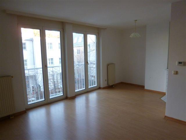 Hofseitige 1-Zimmer-Wohnung