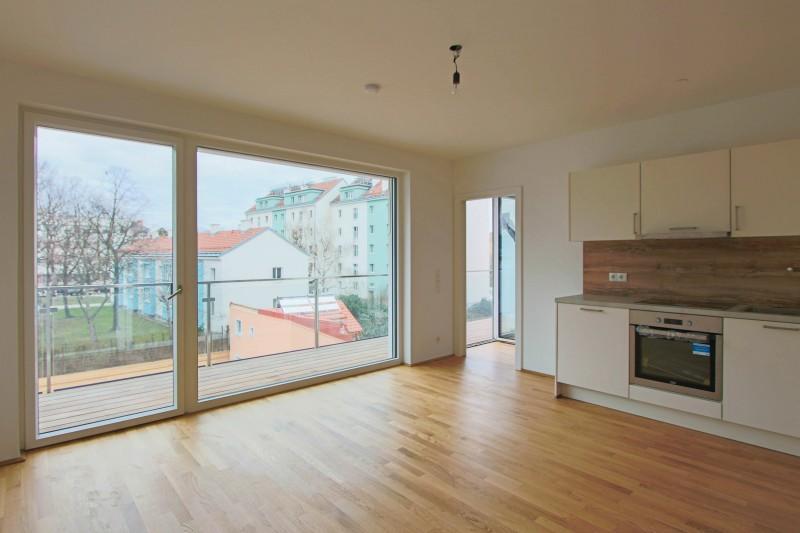 Hochwertige 2-Zimmer-Wohnung mit Balkon 1210 Wien ...
