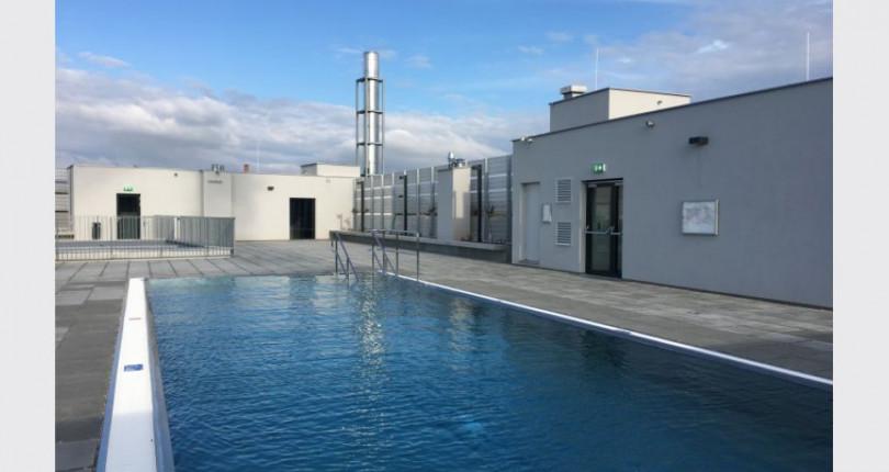 provisionsfreie genossenschaftswohnung mit pool am dach. Black Bedroom Furniture Sets. Home Design Ideas