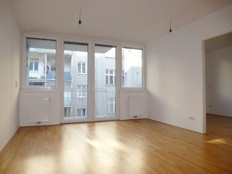 Hofseitige 2-Zimmer-Wohnung mit Balkon - Wohnung mieten ...