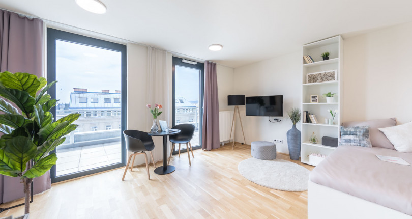 Nur noch für kurze Zeit: Provisionsfreie Apartments zu Early Bird Preisen im THE FIZZ Wien