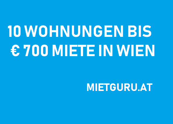 10 Wohnungen Unter 700 Euro Miete In Wien Mietguru At