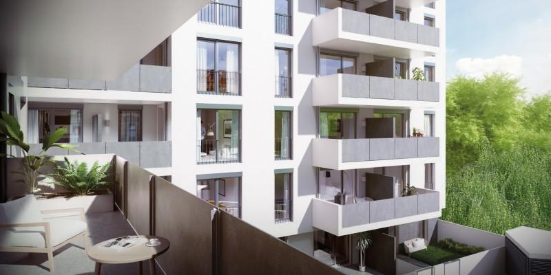 Provisionsfreie 2-Zimmer-Wohnung mit Garten als Erstbezug