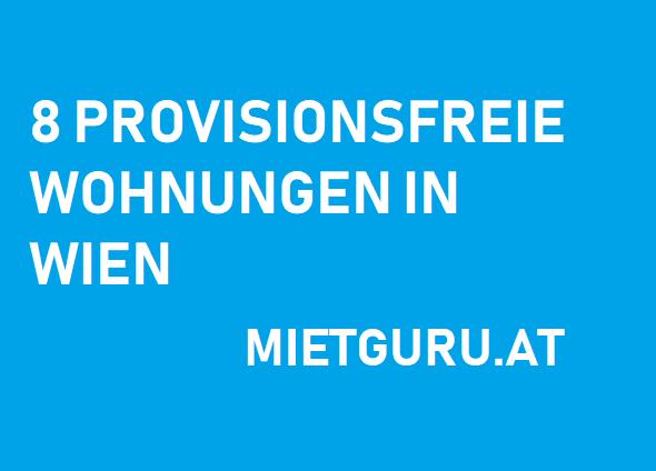8 provisionsfreie Wohnungen in Wien