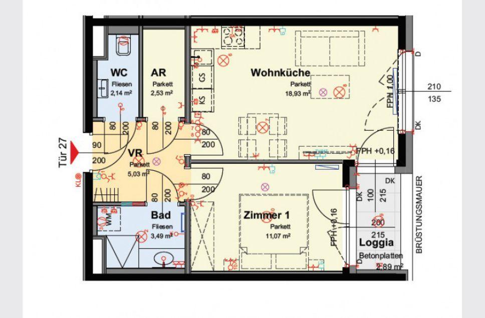 wohnung wien provisionsfreie 2 zimmer wohnung mit loggia. Black Bedroom Furniture Sets. Home Design Ideas