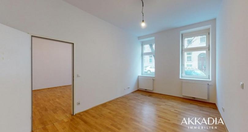 2-Zimmer-Altbauwohnung mit Terrasse
