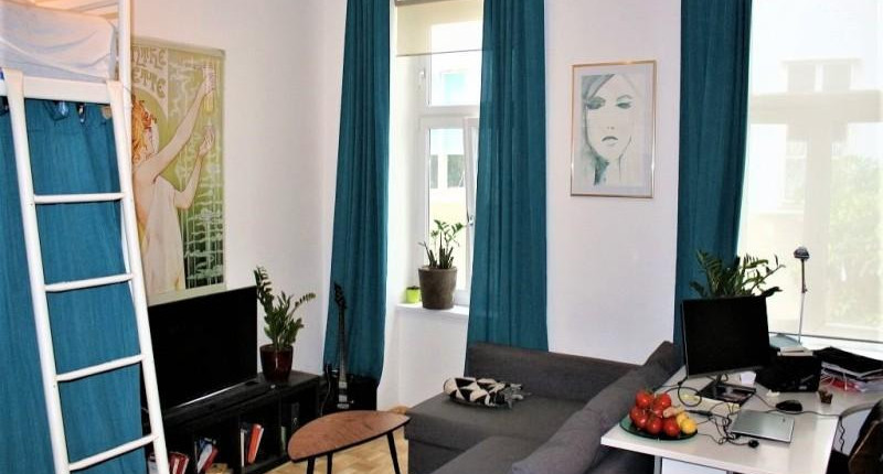 1-Zimmer-Altbauschnäppchen 1090 Wien