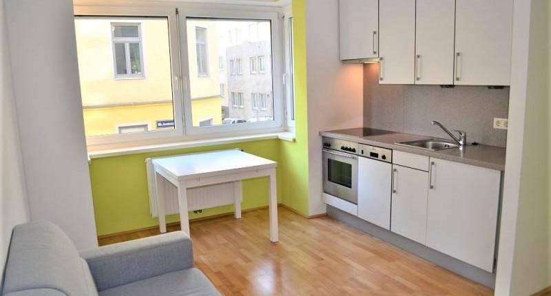 Kompakte 1,5-Zimmer-Wohnung nahe U6 AKH