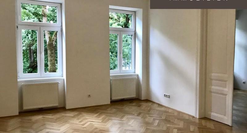 Unbefristete Altbauwohnung mit Parkblick 1200 Wien