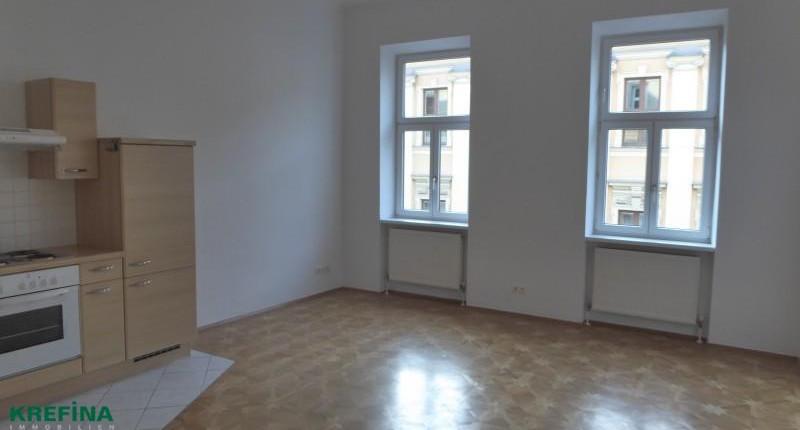 Günstige 2-Zimmer-Altbauwohnung bei Spittelau