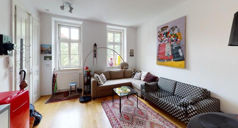 Möblierte 2-Zimmer-Altbauwohnung 1050 Wien