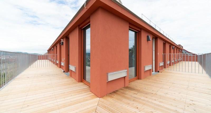 Exklusive DG-Wohnung mit großer Terrasse