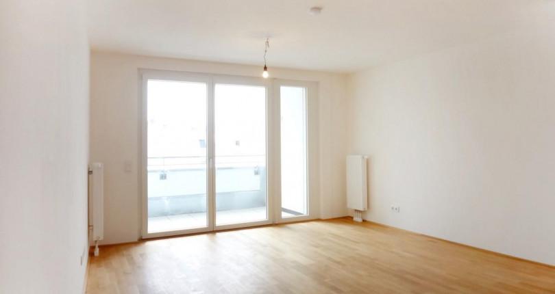 Moderne 2-Zimmer-Wohnung mit sonnigem Balkon