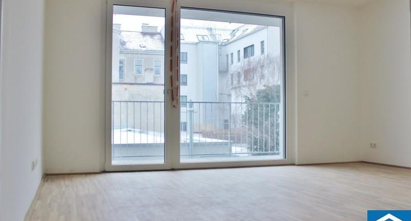 Moderne 2-Zimmer-Neubauwohnung mit großem Balkon