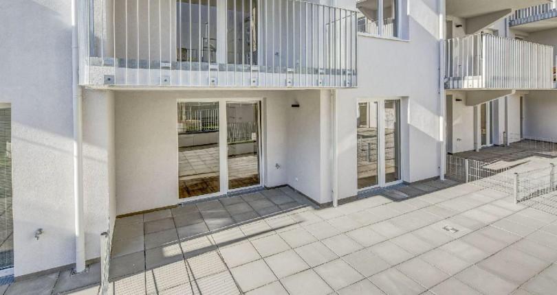 Moderne 2-Zimmer-Wohnung mit großer Terrasse