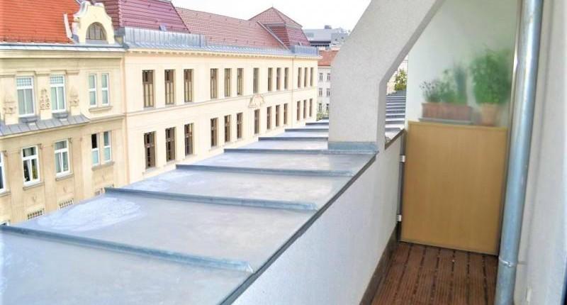 Klimatisierte und unbefristete DG-Wohnung 1200 Wien