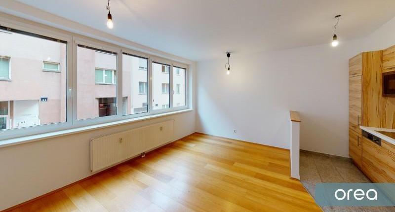 Sehenswerte 2-Zimmer-Mietwohnung nahe Westbahnhof