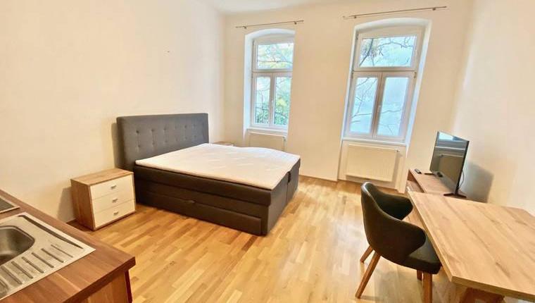 Voll Möblierte 1.Zi Wohnung in ruhiger Innenhoflage und guter Anbindung