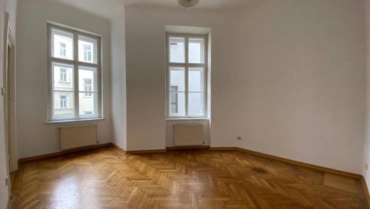 Hofseitige 2-Zimmer-Altbauwohnung in Traumlage