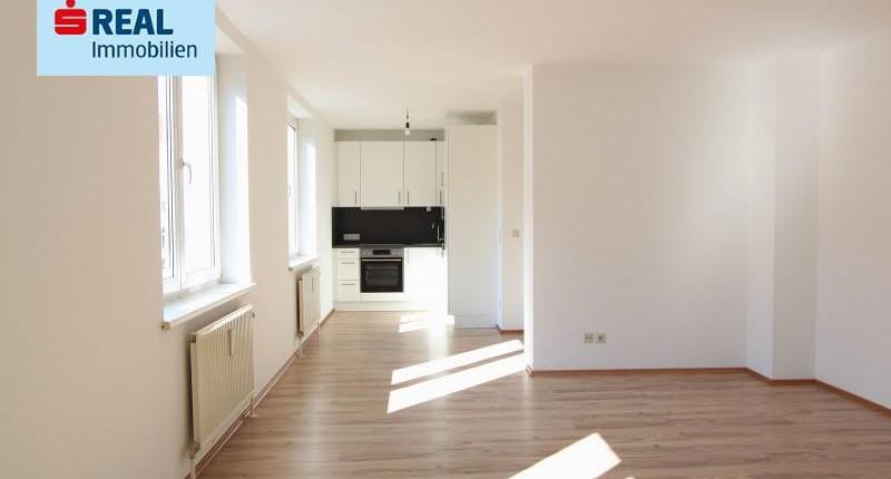 Gut aufgeteilte 1-Zimmer Wohnung mit neuer Küche