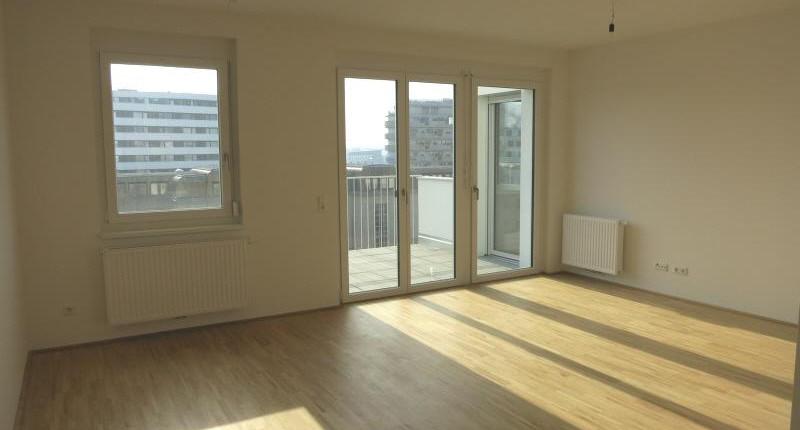 Erstbezug: Erstklassige Zwei-Zimmer-Wohnung mit Balkon