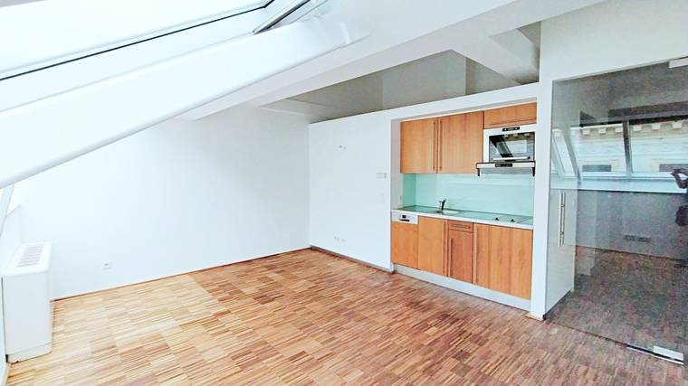 Helle 2-Zimmer DG-Wohnung am Donaukanal