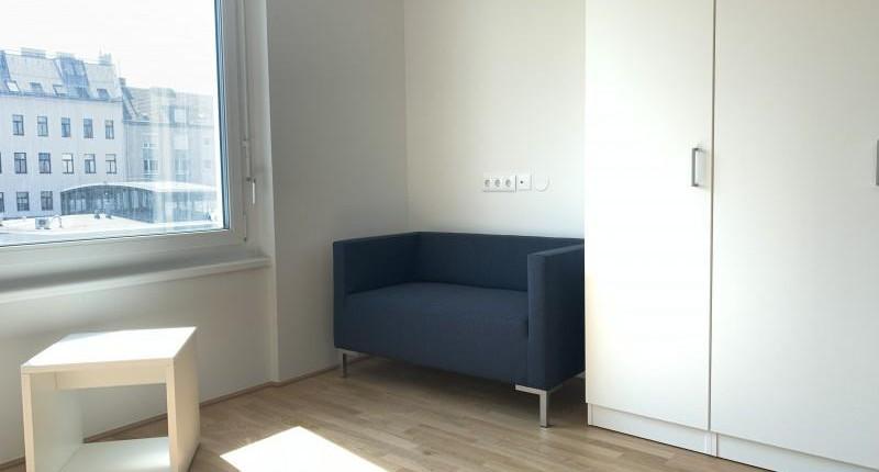 Möblierte 1-Zimmer-Kleinwohnung