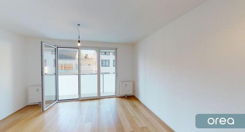 Perfekte Single-Wohnung mit Loggia