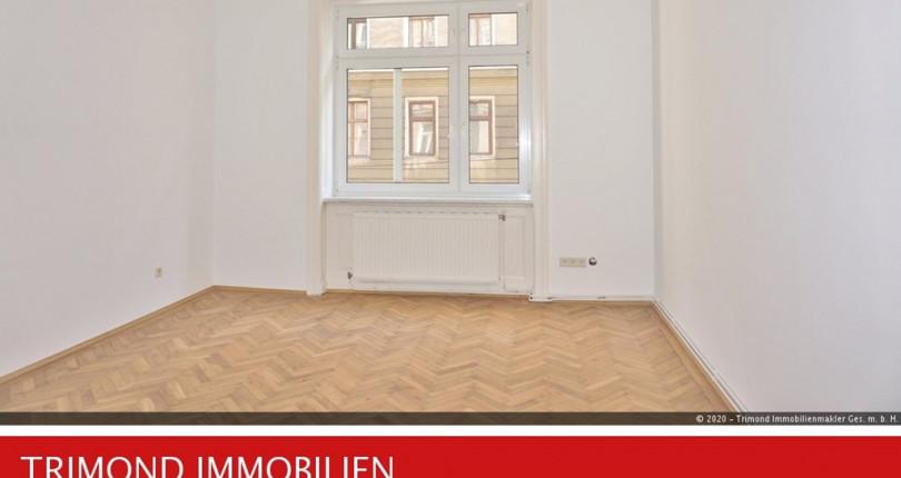 Unbefristete 2-Zimmer-Altbauwohnung günstig zu mieten