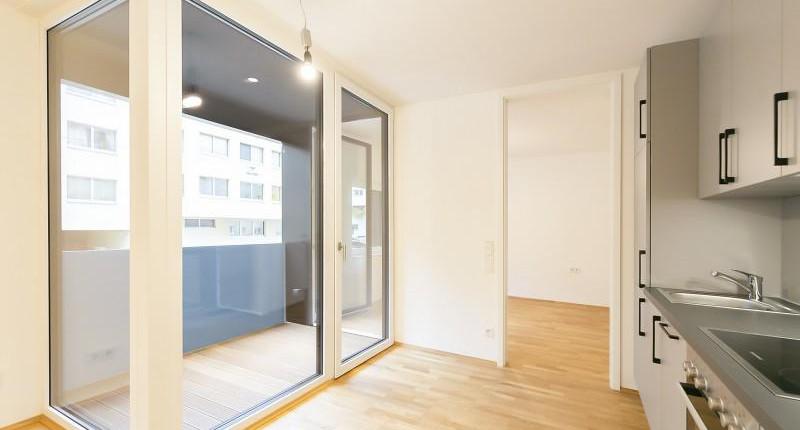 Perfekte 2-Zimmer-Erstbezugswohnung mit Loggia in Ottakring