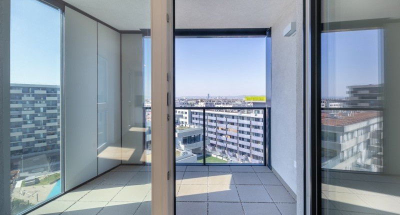 PROVISIONSFREI: 2 Zimmer Wohnung with a view