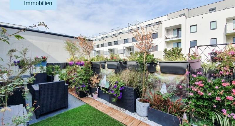Hochwertig ausgestattete Singlewohnung mit traumhafter Dachterrasse
