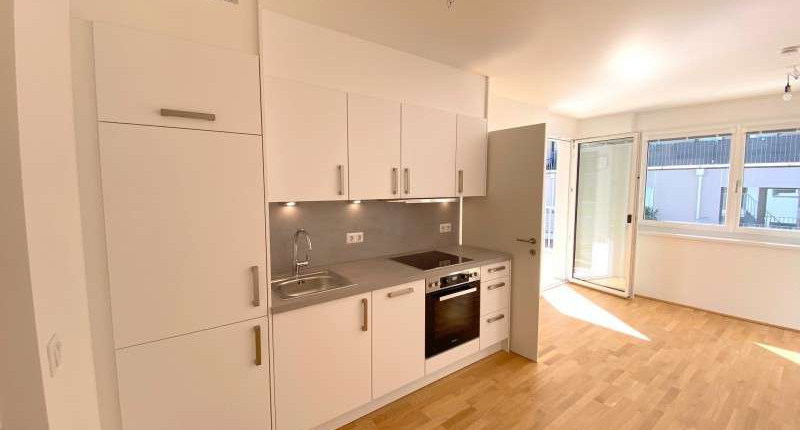 ERSTBEZUG: 2-Zimmer-Wohnung mit Balkon