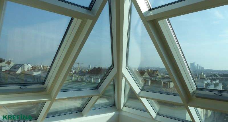 ERSTBEZUG: Provisionsfreie 2 Zimmer Dachgeschoßwohnung