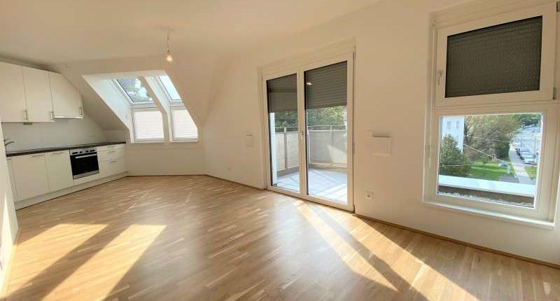 Neubau: Wunderschöne 1 Zimmerwohnung mit Balkon