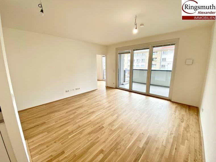 Provisionsfreie Erstbezugswohnung 2 Zimmer mit Balkon