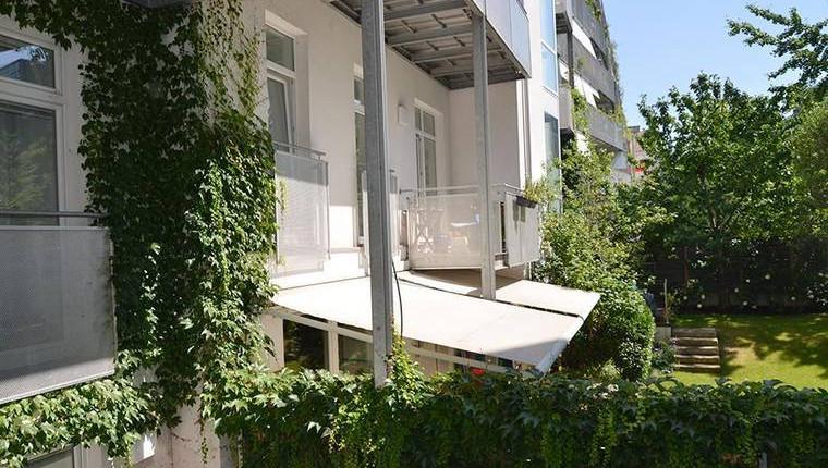 Ruhige 2-Zimmerwohnung mit gartenseitigem Balkon, PROVISIONSFREI